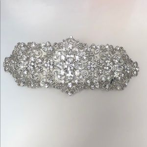 Jewelry - Bridal rhinestone comb: Swarovski